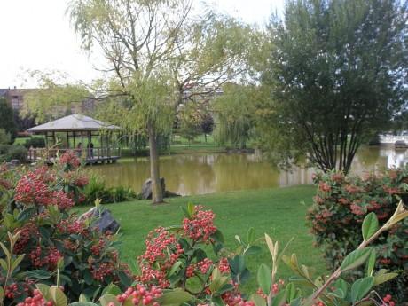 parque1 460x345 Yamaguchi, un jardín japonés en Pamplona
