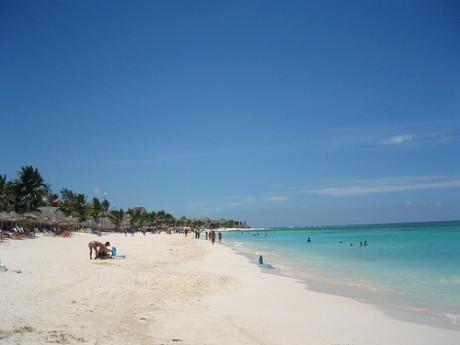 playa del carmen 460x345 Playa del Carmen, otro paraíso del Caribe mexicano