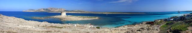 playa la pelosa En el Mediterráneo podeis descubrir la playa de La Pelosa