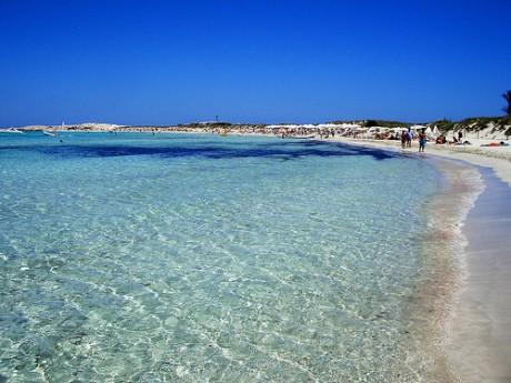 playa4 460x345 Ses Illetes, una de las playas paradisíacas de Formentera