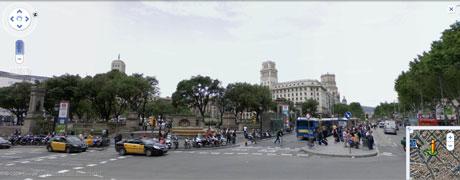 plaza catalunya barcelona Conocer Barcelona sin salir de casa
