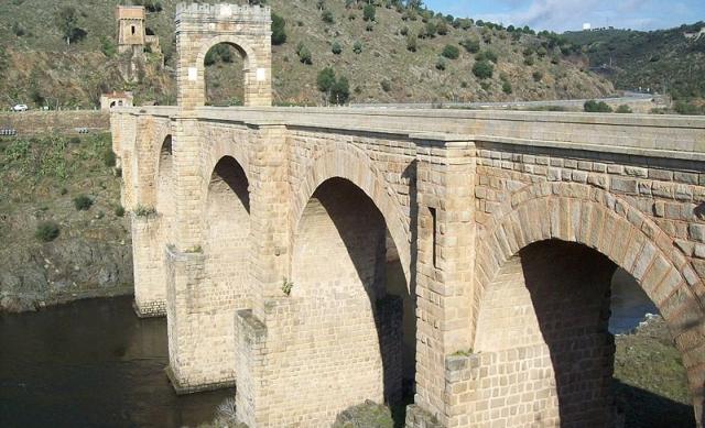 puente de alcantara El puente de Alcántara