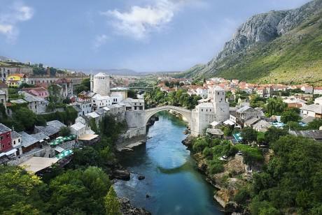 puente de mostar 460x308 El puente de Mostar, símbolo de la antigua Yugoslavia
