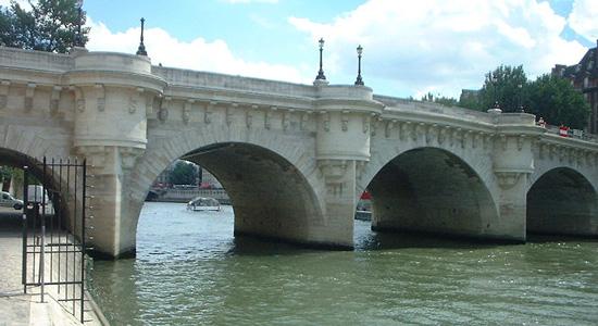 puente nuevo paris Los puentes más famosos del mundo