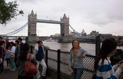 puente tower bridge londres Los puentes más famosos del mundo