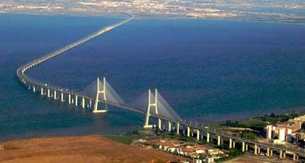 puente vasco de gama Los puentes más famosos del mundo