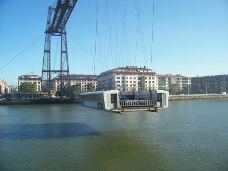 puente4 460x345 El Puente de Vizcaya, el puente transbordador más antiguo del mundo