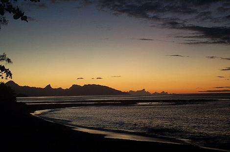 puesta sol papete tahiti Las puestas de sol más bonitas del mundo