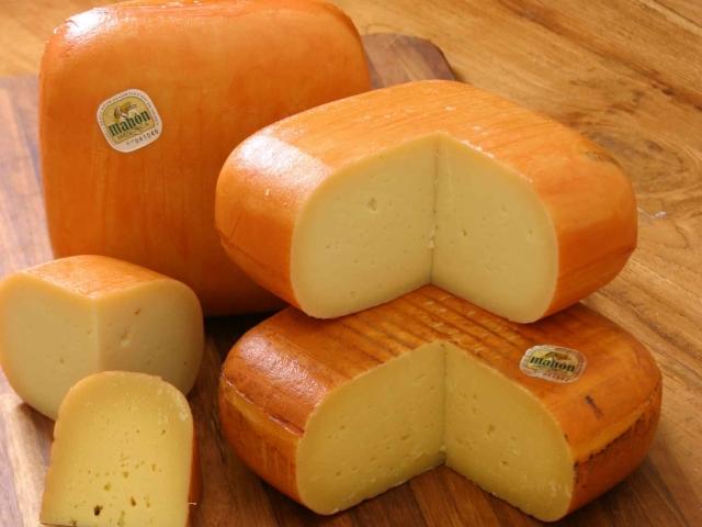 queso mahon En Menorca puedes degustar el Queso de Mahon