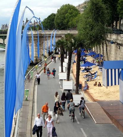 sena 414x460 La playa de París, a orillas del Sena