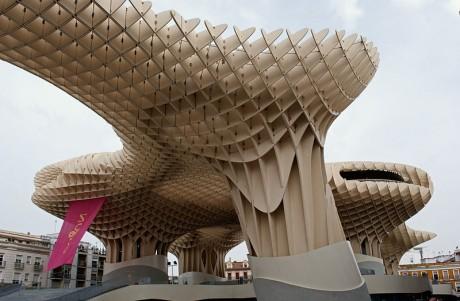 setas 460x301 Las Setas de la Encarnación, un controvertido espacio en Sevilla