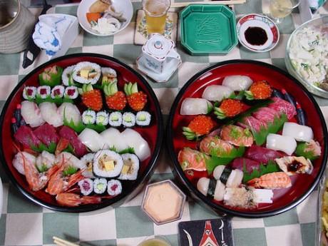sushi 460x345 Sushi, típico japonés
