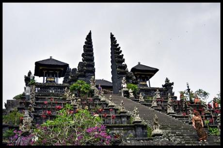 templo Pura Besakih 460x304 Templo Pura Besakih, el más grande de Bali