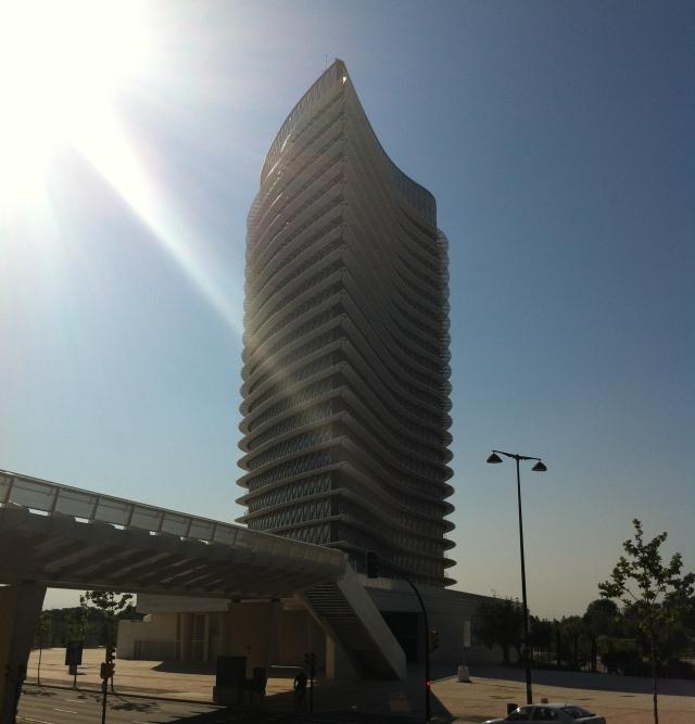 torre del agua Zaragoza y la Torre del Agua