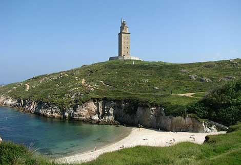 torre hercules coruna patrimonio humanidad La Torre de Hércules de A Coruña ya es Patrimonio de la Humanidad