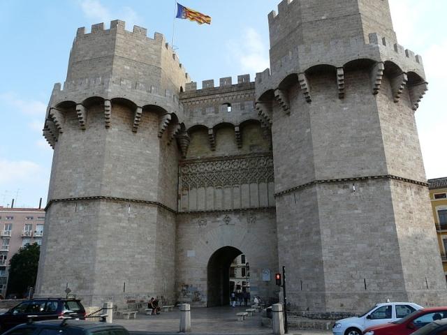 torre serranos Subimos a las Torres de Serranos en Valencia