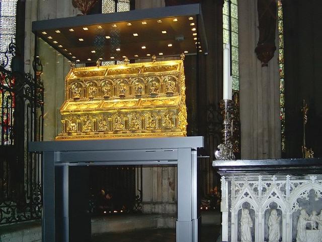 tumba reyes magos colonia La tumba de los Reyes Magos