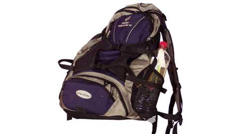 viajar mochila Organiza bien la mochila para tu viaje