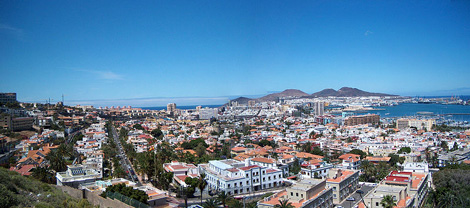 vista panoramica gran canaria foto wikipedia matti mattila Gran Canaria, doce meses de sol y playa
