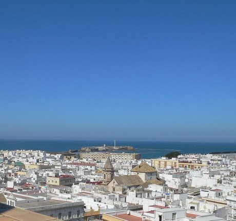 vistas 460x430 Admirar Cádiz desde la Torre Tavira